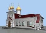 Реконструкция здания храма Благовещения Пресвятой Богородицы г. Саратов
